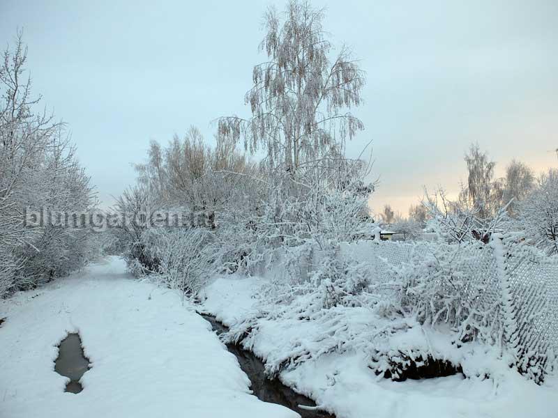 Апрель — снегопад в Подмосковье