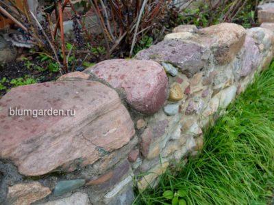 Подпорная стенка своими руками © blumgarden.ru
